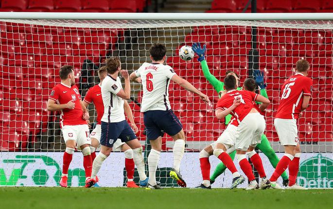 Отбор на ЧМ-2022. Англия - Польша 2:1. Дожали количеством - изображение 2