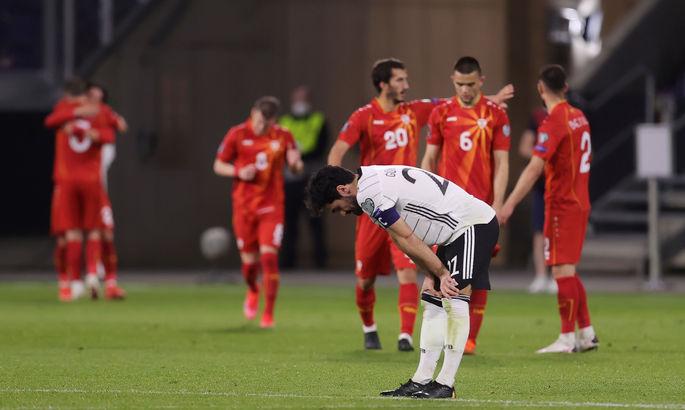 Отбор на ЧМ-2022. Германия - Северная Македония 1:2. Простых соперников на Евро не будет