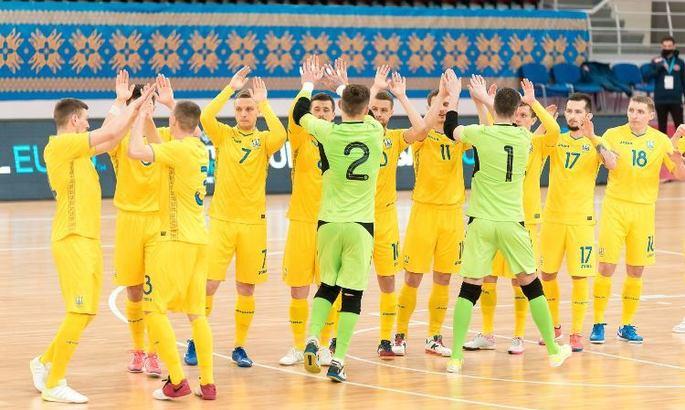 Збірна України з футзалу назвала склад на матчі з Данією і Албанією