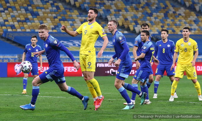 Команда Шевченко установила рекорды по ударам и xG в поединке с Казахстаном