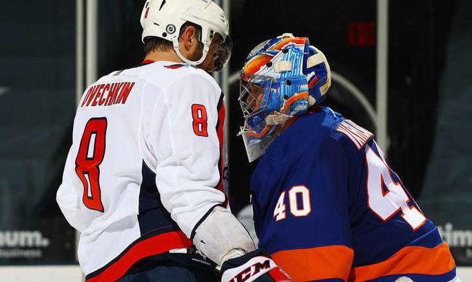 НХЛ: Вашингтон пропустил 8 шайб от Айлендерс, Вегас проиграл Миннесоте