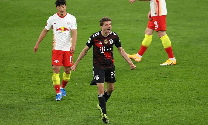 Бавария побила немецкий рекорд по голевым матчами подряд