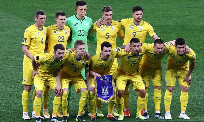 Счет 1:1 в матчах сборной Украины - второй по популярности