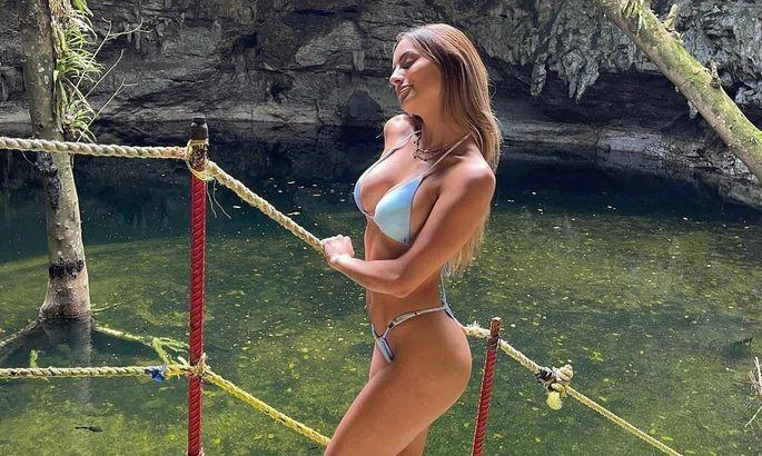 Девушка дня. Роскошная фитнес-модель, которая мотивирует будущего одноклубника Зинченко. ФОТО