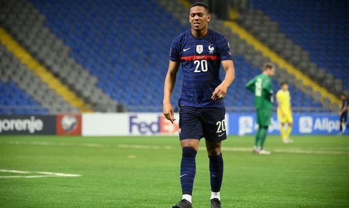 Марсьяль впервые за пять лет забил за сборную Франции