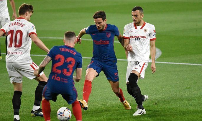 Примера. Севилья - Атлетико 1:0. Порадовали Реал и Барселону