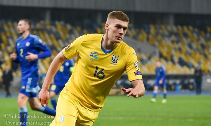 Довбик: Надеюсь, что в следующий раз обязательно забью за сборную Украины