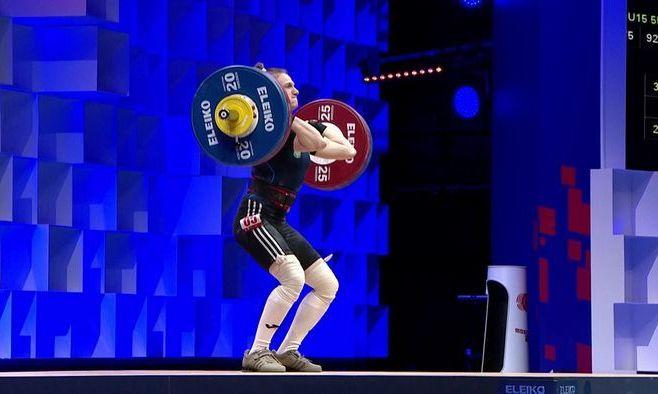 Победа в Москве. Украинка Конотоп – чемпионка Европы по тяжелой атлетике