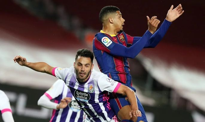 Вымучили. Барселона - Вальядолид 1:0. Видео гола и обзор матча