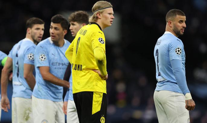 ЛЧ. Манчестер Сити - Боруссия Дортмунд 2:1. Не так убедительно, как в АПЛ