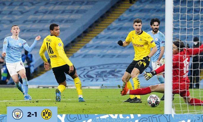 Манчестер Сити - Боруссия Д. 2:1. Обзор матча, видео голов