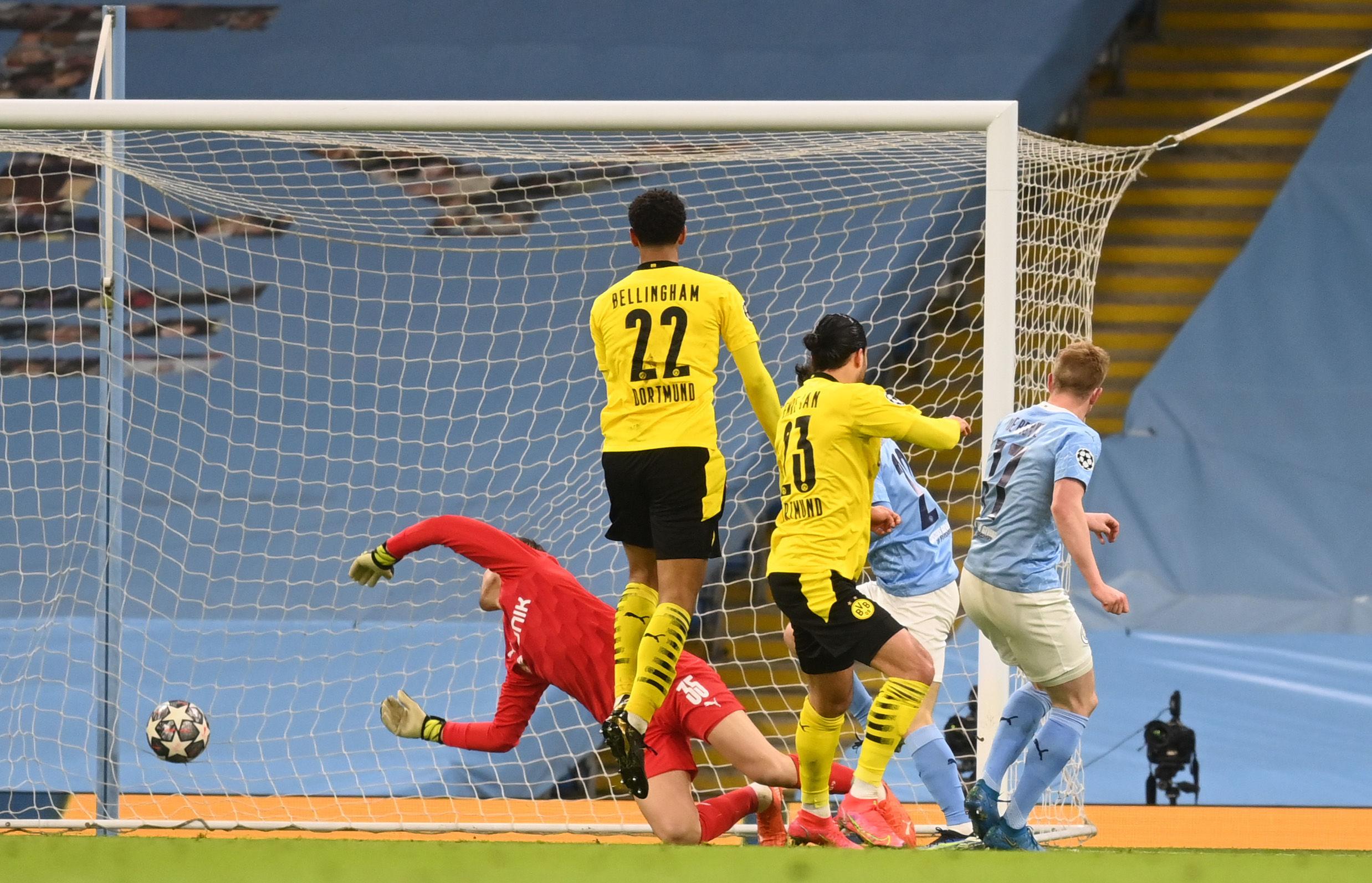 ЛЧ. Манчестер Сити - Боруссия Дортмунд 2:1. Не так убедительно, как в АПЛ - изображение 1