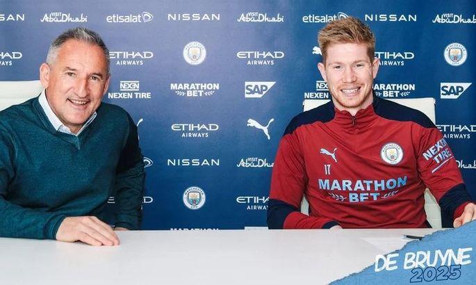 Официально: Кевин Де Брюйне подписал новый контракт с Манчестер Сити - изображение 1