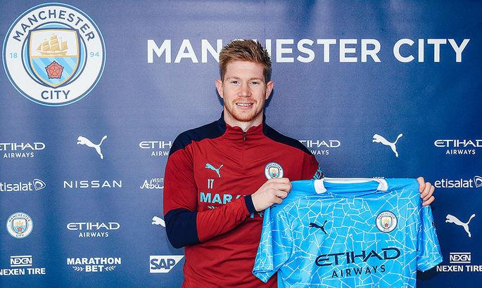 Официально: Кевин Де Брюйне подписал новый контракт с Манчестер Сити
