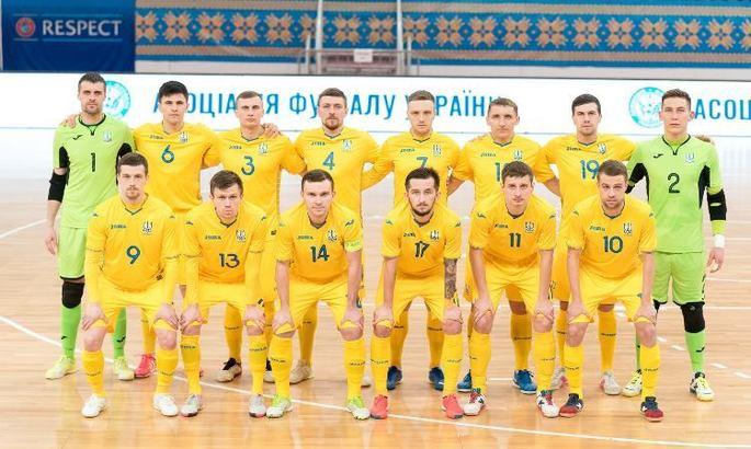 Дания - Украина: смотреть онлайн матч отбора на Евро-2022 по футзалу