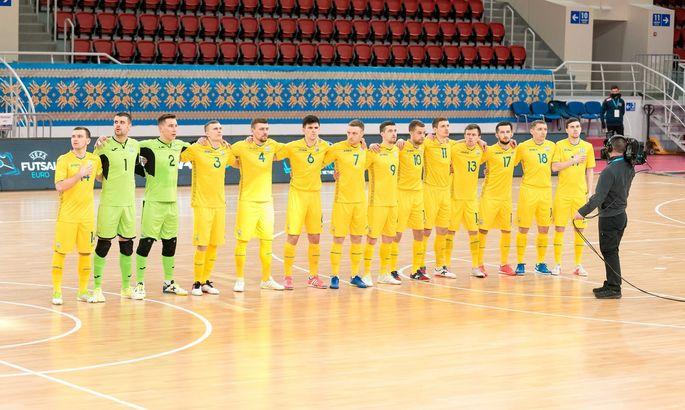 Футзал. Україна громить Данію і зберігає шанси на Євро