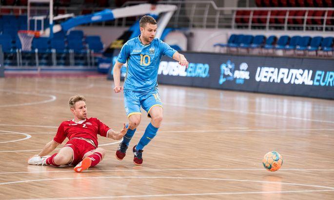 Футзал. Украина – Дания 6:2. Видео голов и обзор матча