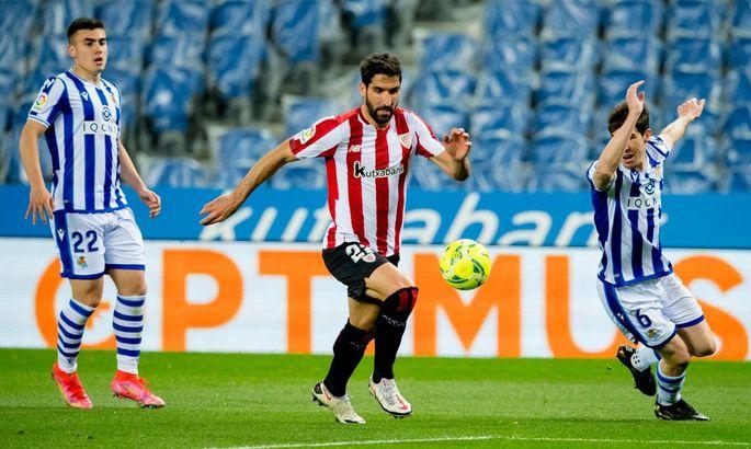 Примера. Реал Сосьедад - Атлетик 1:1. Реванша за Кубок не получилось