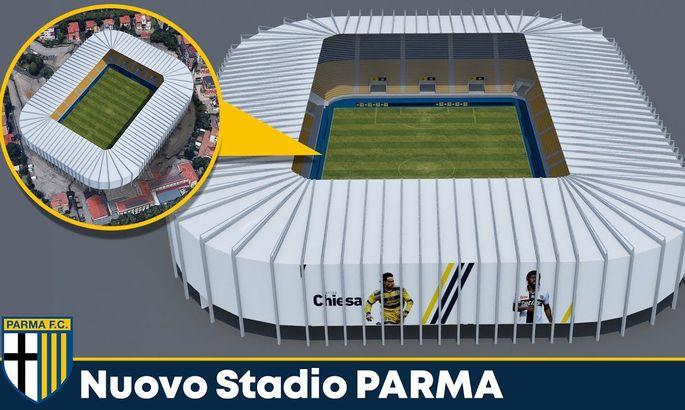 Новий стадіон Парми. Клуб презентував відео проєкту майбутньої арени