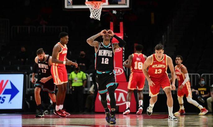 Данк Моранта после отскока от щита – момент дня в НБА. ВИДЕО