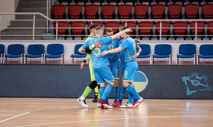 Почти на Евро. Сборная Украины по футзалу разгромила Данию и во втором матче