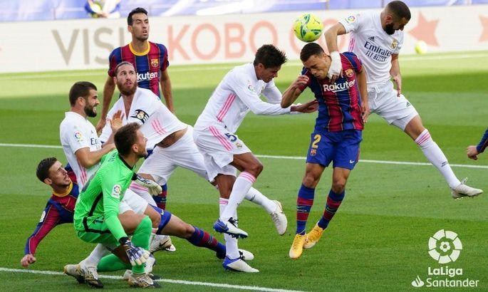 Реал - Барселона. Букмекеры назвали фаворита Эль Класико