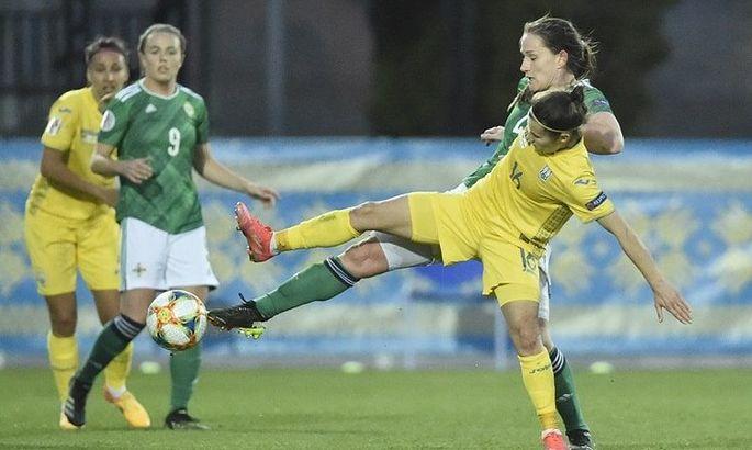 Українки програли Північній Ірландії в першому плей-офф матчі відбору Євро-2022