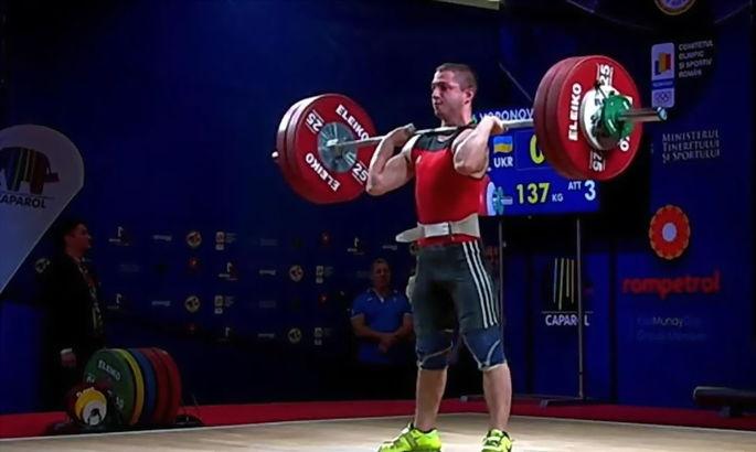 Украинец Вороновский выиграл бронзовую награду на чемпионате Европы в россии