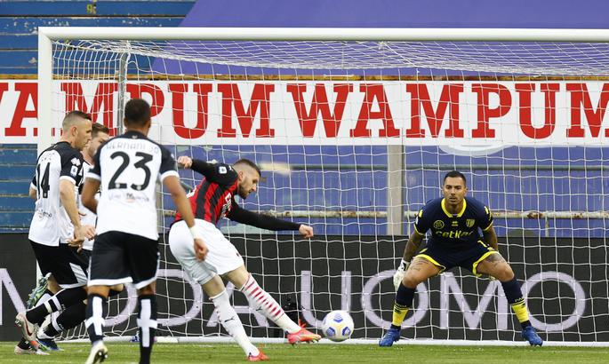 Серия А. Удаление Златана не помешало Милану победить