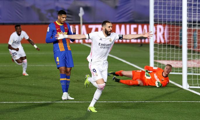 Примера. Реал - Барселона 2:1. Это не дождь, а слезы каталонцев