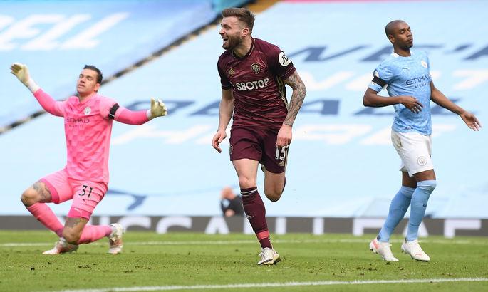 Шокирующий Даллас. Манчестер Сити - Лидс 1: 2. Видео голов и обзор матча