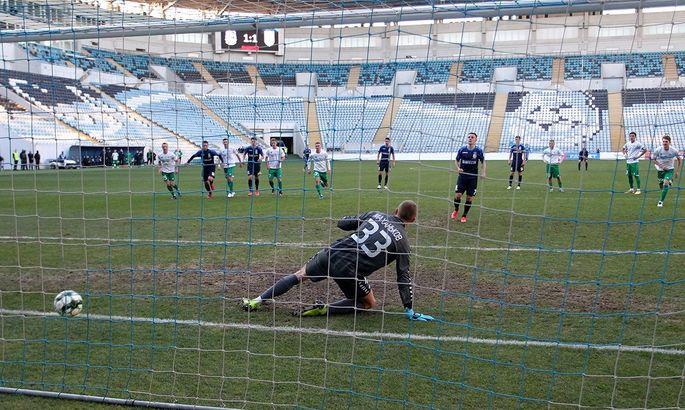 Победный пенальти. Черноморец - Полесье 2:1. Видео голов и обзор матча