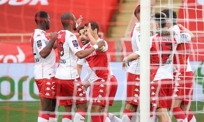 Лига 1. Монако разобрался с Бордо, продолжив преследование лидеров