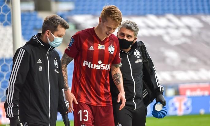За Легию больше не сыграет - Шабанов выбыл до конца сезона