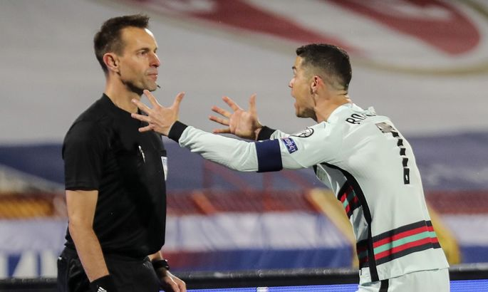 Цена за ошибку. Из-за незасчитанного гола Португалии судья не поедет на Евро-2020