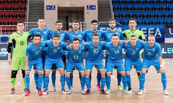 Футзал. Сборная Украины вышла на Евро-2022