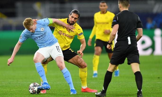 ЛЧ. Боруссия Дортмунд - Манчестер Сити 1:2. Первый полуфинал для Гвардиолы за пять лет