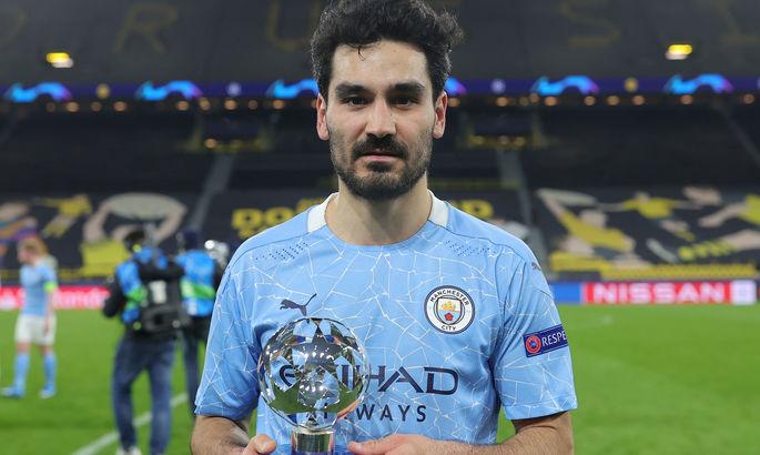Лучший игрок матча Боруссия Д - Манчестер Сити голов не забивал
