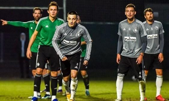 Русин забив вирішальний гол за дубль Легії в спарингу з першою командою