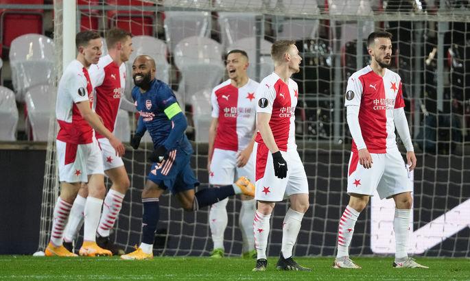 ЛЕ. Славия - Арсенал 0:4. Все решилось за 20 минут