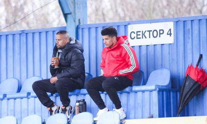 Тайсон присутствует на матче между молодежными составами Шахтера и Динамо
