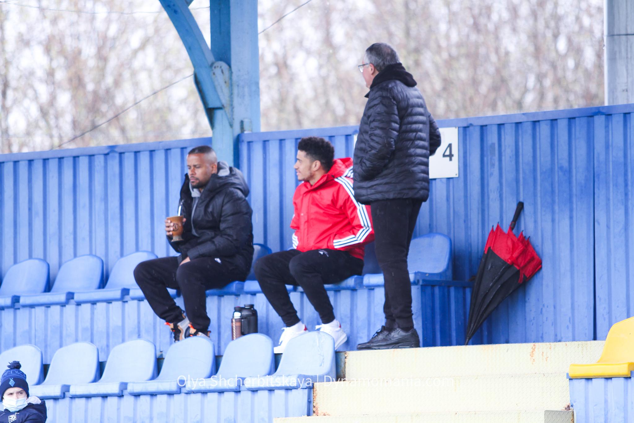 Тайсон присутствует на матче между молодежными составами Шахтера и Динамо - изображение 1