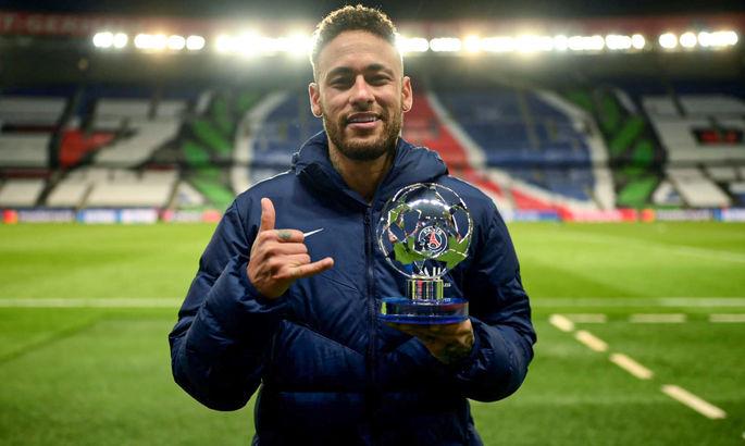 Неймар – лучший футболист недели в Лиге чемпионов