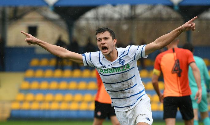Динамо продлило контракт с лучшим бомбардиром чемпионата U-21