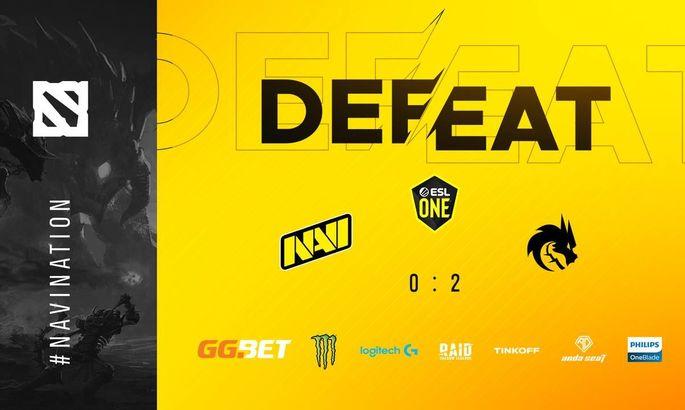 NaVi проиграли в первом матче Dota Pro Circuit 2021
