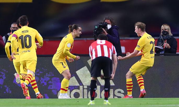 Барселона в шикарном стиле выигрыла Кубок короля-2021