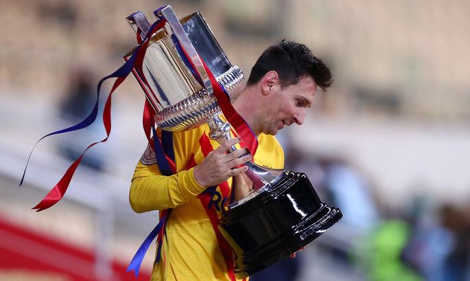 З шедевром Мессі. ВІДЕО, як Барселона розгромила Атлетік у фіналі Кубка Іспанії