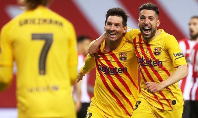 Месси установил два рекорда в финале Кубка Испании
