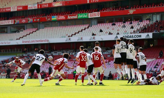 АПЛ. Арсенал - Фулхэм 1:1. Канониры спасаются на 90+7 минуте