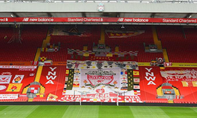 Фанаты Ливерпуля устроили демарш руководству клуба из-за Суперлиги